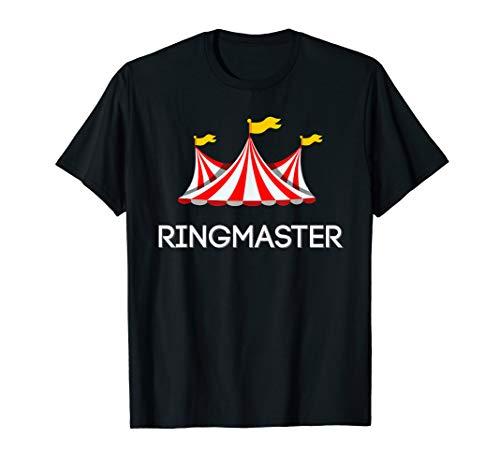 Ringmaster Shirt, Circus Carnival Costume T-shirt]()