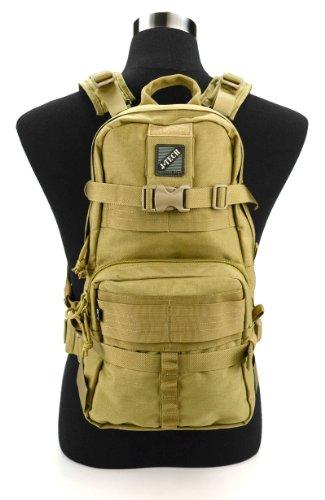 Cheap Jtech Gear D-1 (A+) Combat Backpack, Camel Tan/Coyote Tan