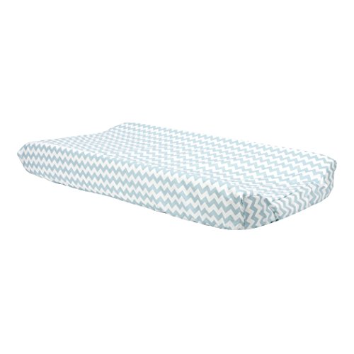 Trend Lab Cotton (Trend Lab Blue Sky Chevron Changing Pad Cover)