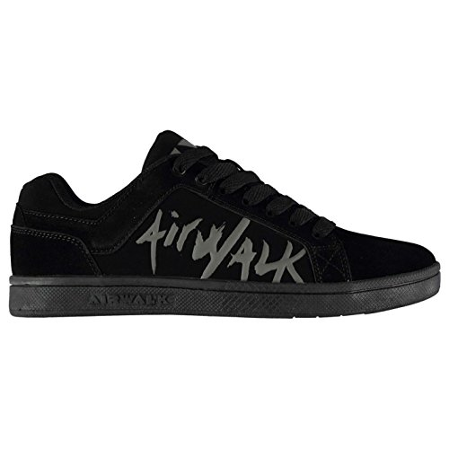 Airwalk Neptune Shoes Skate Negro Niños wCvRX