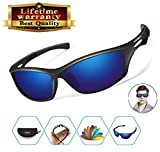 Polarized Sports Sunglasses men women Baseball Running Cycling Fishing Golf Tr90 Durable Frame