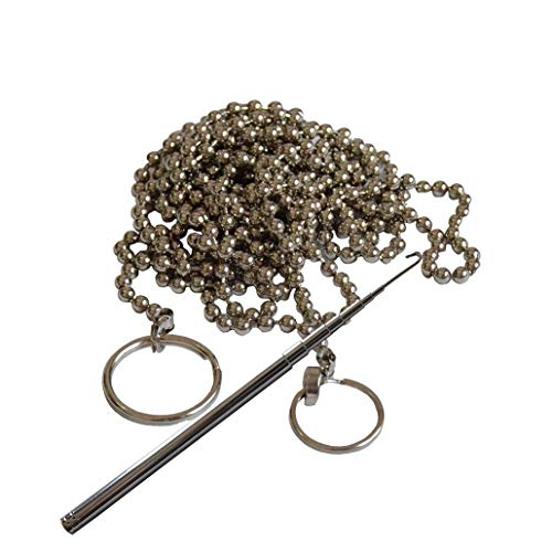 (Fish Ball Chain & Retriever Telescoping Hook (Wet Noodle) and Storage Case)