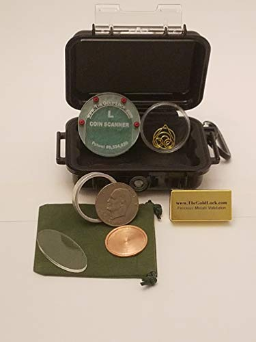 Large Gold Coin Tester Kit - Test Silver Eagles, Krugerrands, Maple Leafs, Silver Dollars, etc. (Best Price Silver Maple Leaf Coins)