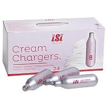 Isi- N2O Cream Chargers, 24-Pack