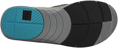 Sandalo Da Uomo Phoenix Di Barriera Nero / Blu