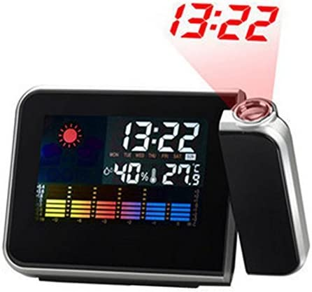 Hangrui Reloj Despertador, Despertador proyector Despertador ...