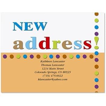 amazon com new business address 50 moving announcement postcards