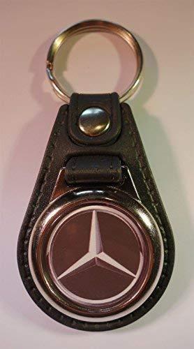 Calidad Superior Piel Sintética Mercedes Benz Llavero / Mando
