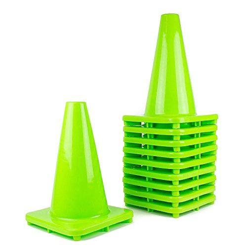 PVC Traffic Cones, 12