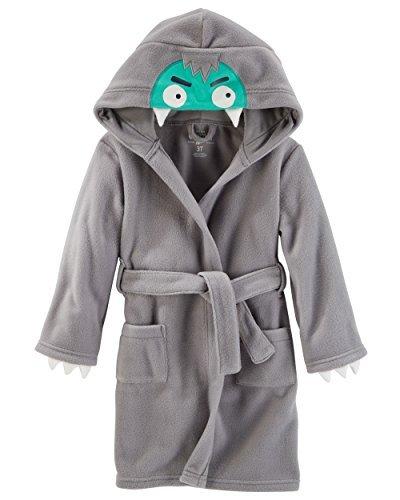 OshKosh B'Gosh Big Boys' Robe Polar Fleece Monster Robe (8)