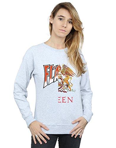 Entrenamiento Gris Crest Absolute Deporte Cult De Camisa Flash Queen Splice Mujer ww8CHq