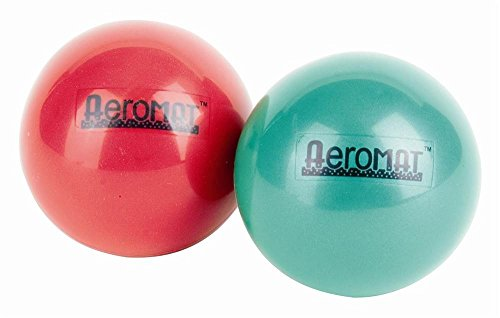 Cheap Exercise Balls 1 lb – 3.6″ diam Dual Package Mini Weight Balls – Green