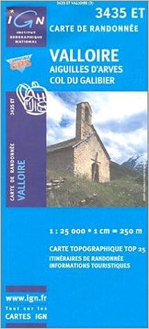 Ebook à télécharger gratuitement Carte de randonnée : Valloire B000249YQ0 en français DJVU