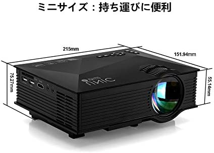 UNIC LED Projector - UC 46: Amazon com: SELLER189