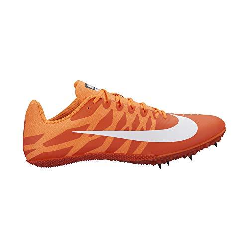 5333510eb37 Nike Zoom Rival S 9 Track Spike Team Orange White Cone Black Size 9 M US