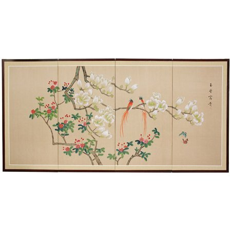 Oriental Furniture Love Birds - 36""