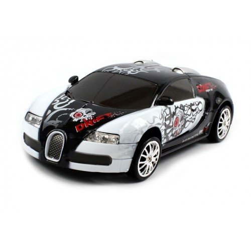 electric full function 1 24 bugatti veyron graffiti rtr rc drift car colors may vary remote. Black Bedroom Furniture Sets. Home Design Ideas