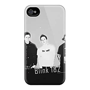 Best Hard Phone Case For Iphone 4/4s With Support Your Personal Customized Realistic Blink 182 Band Series JamieBratt