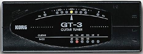 AFINADOR GUITARRA TUNER GT-3: Amazon.es: Instrumentos ...