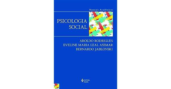 Psicologia Social Para Principiantes Aroldo Rodrigues Pdf