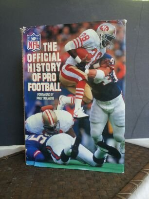 NFL: Official History of Pro Football (Hardcover) by By Beau Riffenburgh and Jack Clary
