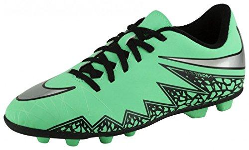 Nike Pojkar Jr Hypervenom Phade Ii Fg-r Fotboll Cleat Grönt Sken