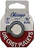 Chicago Die Casting 200A 5/8 2 in. Single V