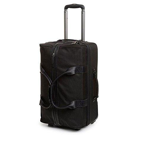 Leather Rolling Camera Bag - ONA - The Hamilton - Camera Rolling Bag - Black Nylon (ONA043NYL)