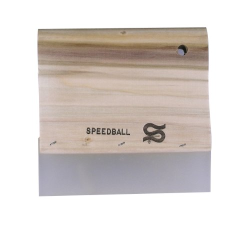 Speedball 6-Inch Graphic Squeegee for Screen Printing by Speedball