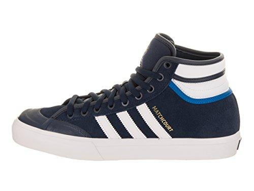 Adidas Originals Mens Matchcourt Hoge Rx Collegiale Marine / Schoenen White / Bluebird