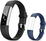 TOOBUR Fitness Activity Tracker Watch for Kids Women Men, Pedometer, Calorie Counter, IP67 Waterproof Step Cou