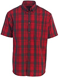 Men's Plaid Short Sleeve Shirt