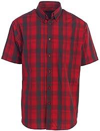 Men's Plaid Short Sleeve Shirt