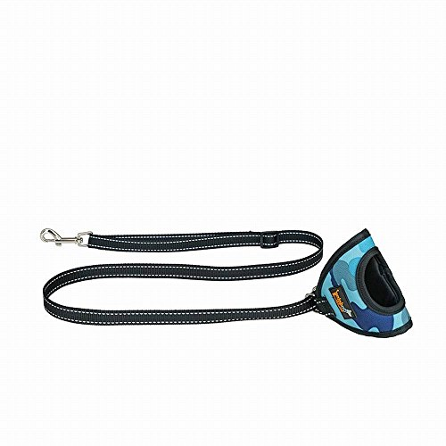 Pet Traction Rope Classic New Glove Handle Dog Rope Dog Leash Night Safety Reflective Belt For Jogging, Running, Walking, (Gloves Classic Belt)