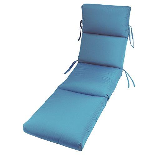 Comfort Classics 72 x 22 in. Sunbrella Channeled Chaise Lounge Cushion (Cushions Bojer Patio)