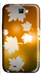 Samsung Galaxy Note II N7100 Cases & Covers - Beautiful Maple Leaf Custom PC Soft Case Cover Protector for Samsung Galaxy Note II N7100