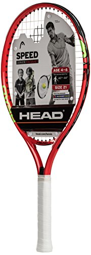 HEAD Speed 21 Junior Tennis Racquet, Strung