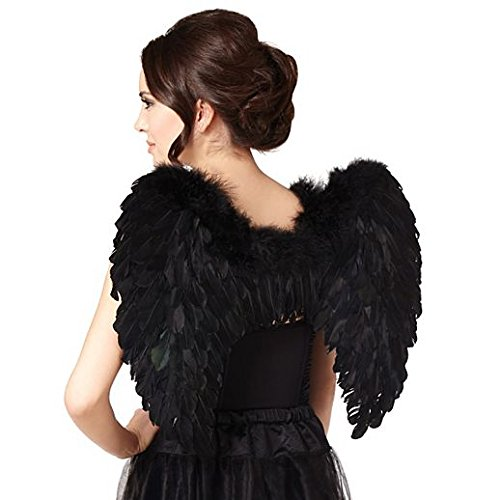 Magic Costume Halloween Black Fea R Wings by Halloween Party