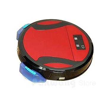 JJYJQR Robot Aspirador Sweeper Robot Aspirador Para Limpieza Doméstica Wet Washing Aspirador Floor Wireless Automatic House Cleaning, Red: Amazon.es: Hogar