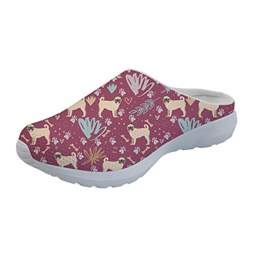 Mules Mules Nopersonality Femme Mules Nopersonality Floral Floral Pug Pug Nopersonality Femme Ca4nF0C