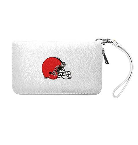 NFL Cleveland Browns Zip Organizer Pebble Wallet