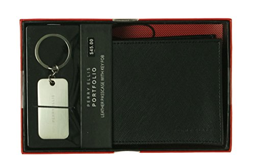 Perry Ellis Portfolio Leather Passcase