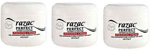 - Razac Perfect for Perms Finishing Creme Daily Hairdressing and Scalp Conditioner, 4 Ounce (3 Pack)