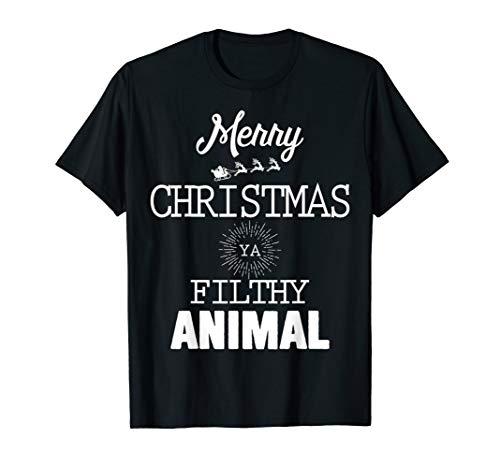 Merry-Christmas Ya Filthy-Animal Tshirt