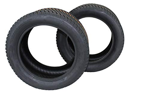 Antego (Set of 2) 22x10.00-14 Turf Tires for Lawn and Garden Mower