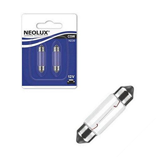 NEOLUX N239-02B C5W 12V 5W SV8, 5-8 Soffitte 36mm Blister 2 Stück NEOLUX® by OSRAM