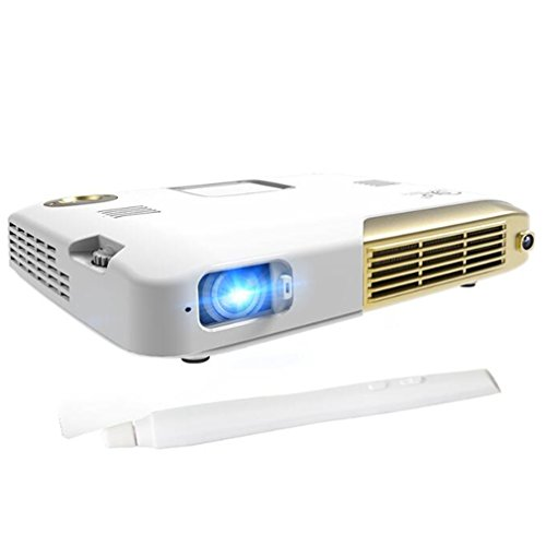 DOOLST WIFI Projectors 2000 Lumens Interactive Touch Screen IWB Full HD 1080P Mini LED Projector Android Portable Education DLP 4K Business Home Projectors