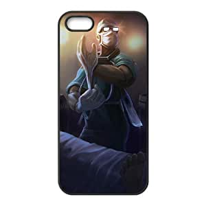 iPhone 5 5s Cell Phone Case Black League of Legends Surgeon Shen KWI8917612KSL