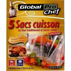 GLOBAL PLASTICS Diseño con Motivos de Cocina Bolsas de Papel para ...