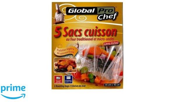 Bolsas para cocinar en el horno tradicional y microondas (10 ...